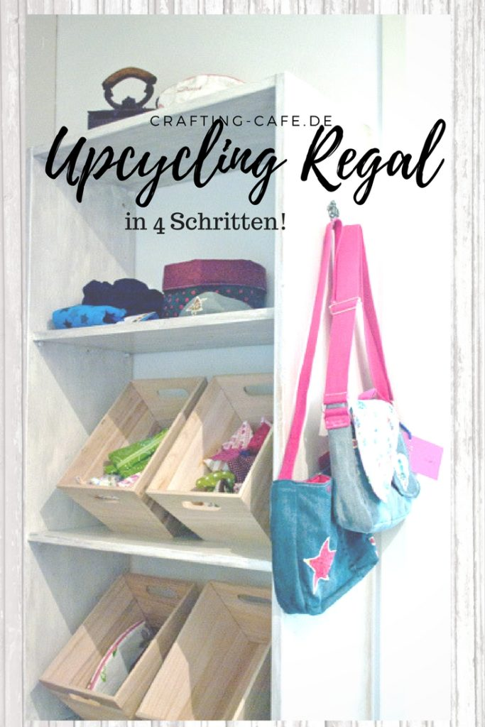 Shabby Chic Regal Upcycling in 4 Schritten. Kinderleicht!