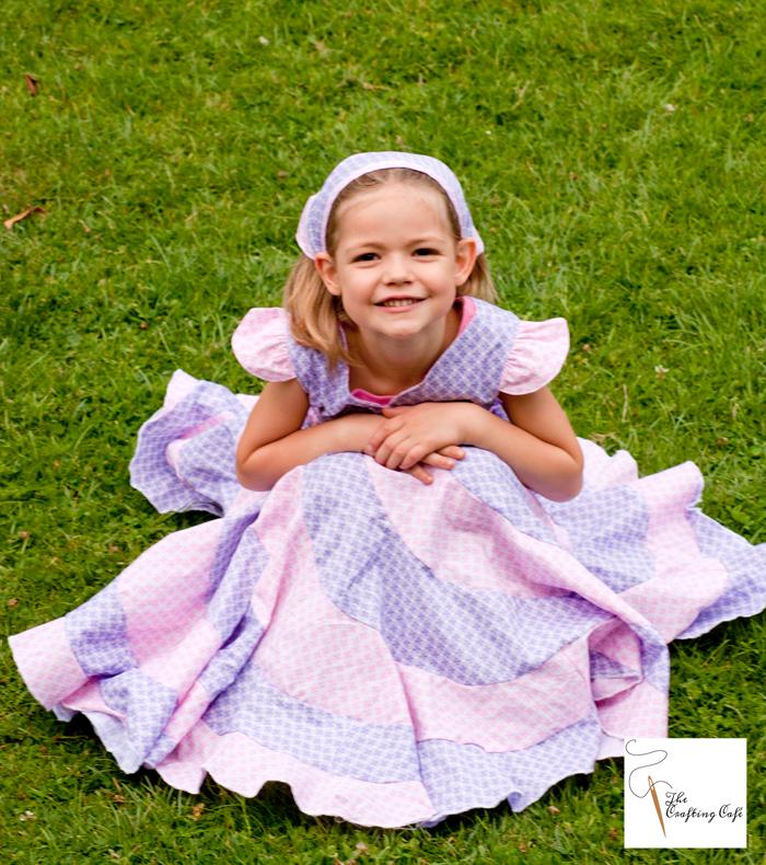 peppermint swirl dress