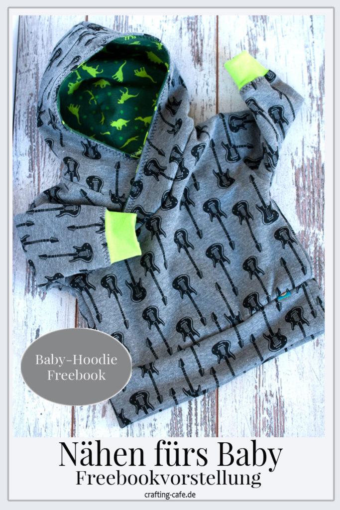 baby hoodie freebook nähen