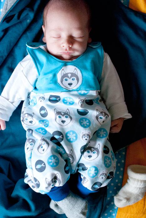 strampler fürs baby nähen freebook