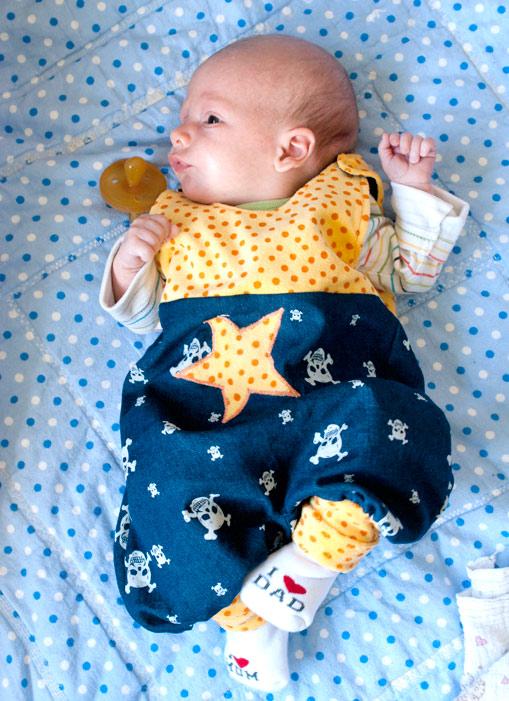 fürs Baby nähen: Strampler