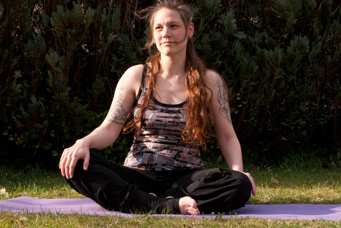 fürs yoga nähen: Shirt und Hose