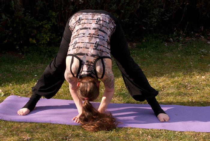 yoga shirt und hose schnittmuster