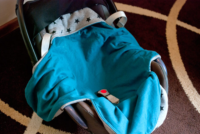 MaxiCosy-Decke // Einschlagdecke fürs Baby * The Crafting Café