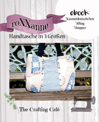 """ebook """"roXXanne"""" * Schnittmuster Handtasche in 3 Größen"""
