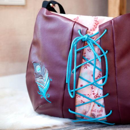 schnittmuster handtasche kunstleder