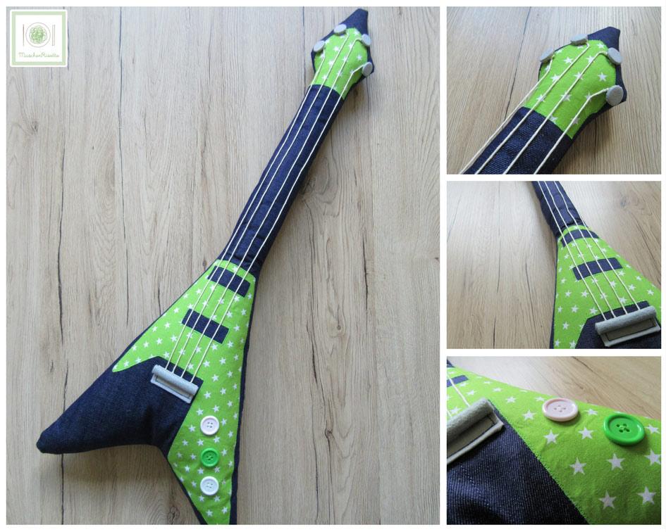 Gitarre nähen