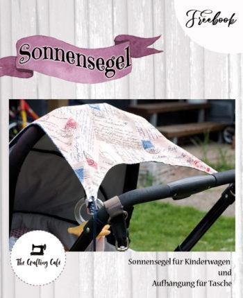 Sonnensegel und Aufhängung Kinderwagen