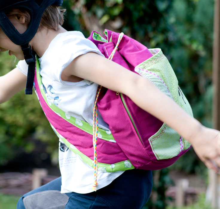 Schnittmuster Kindertasche nähen