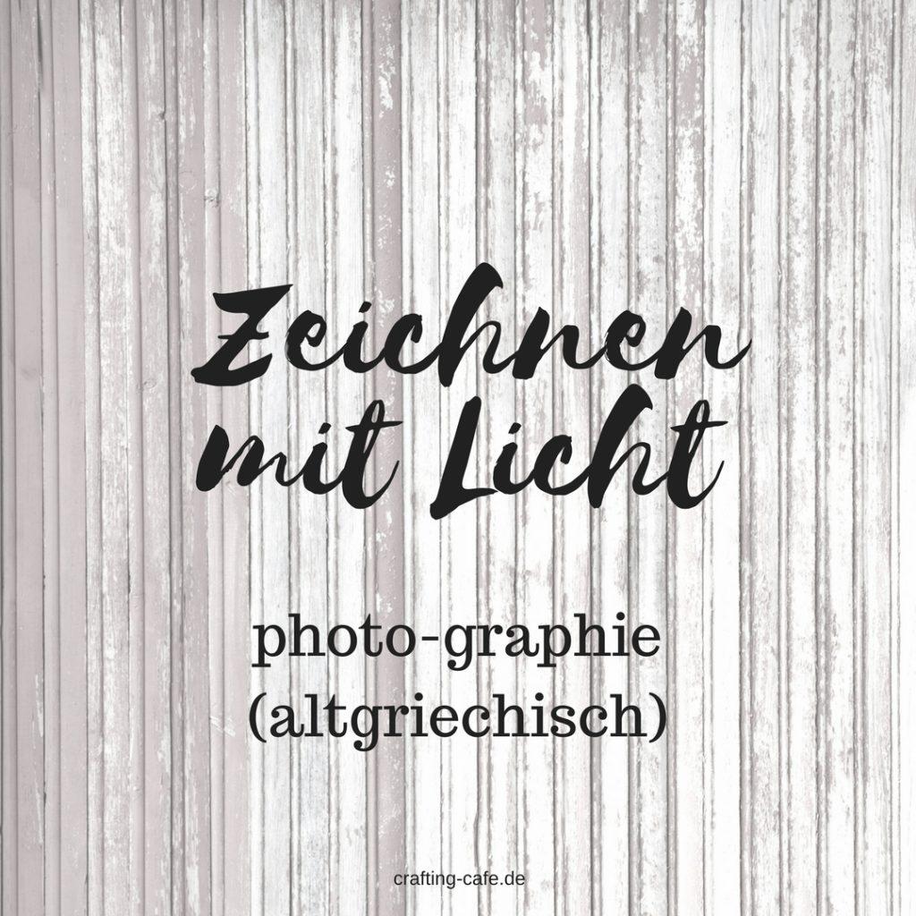 Fotografie zeichnen mit licht