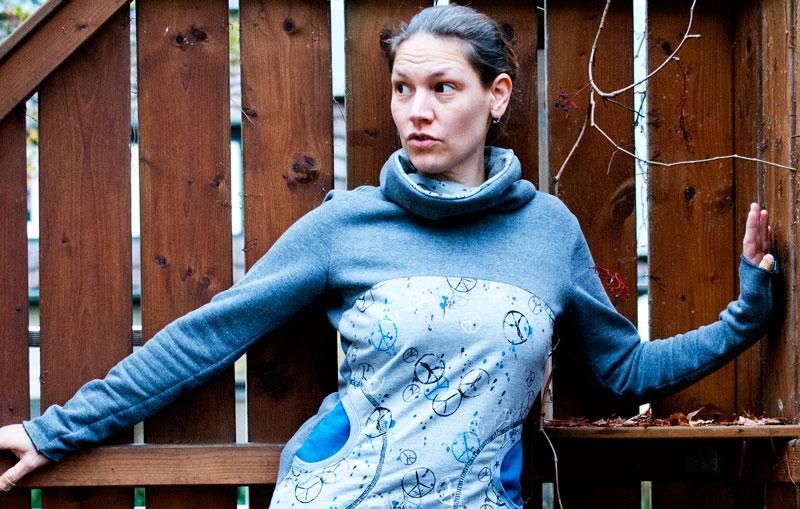 Freebook Damen Pullover nähen