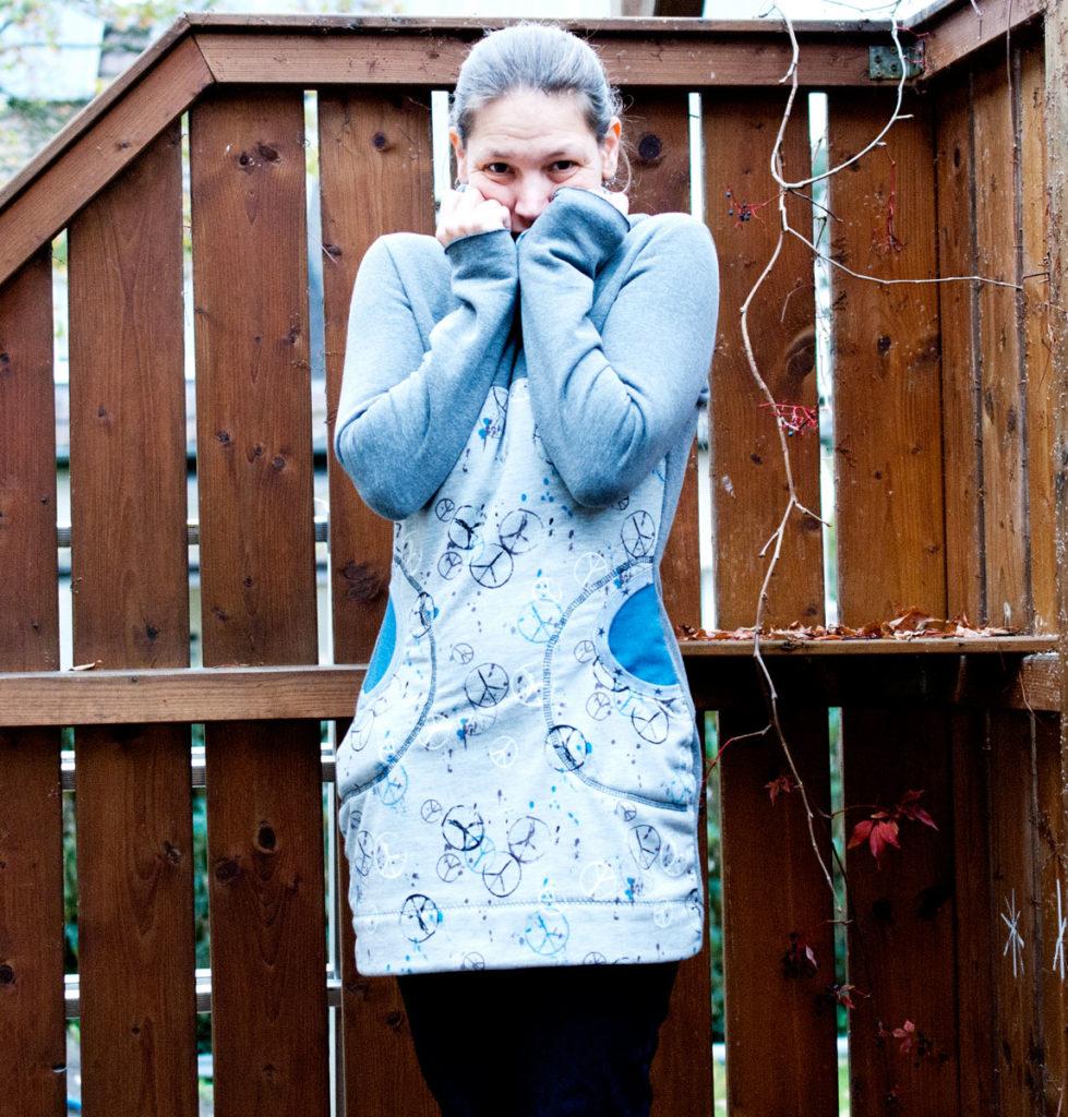 Damen Pullover nähen Freebook