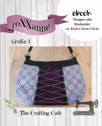 """ebook """"roXXanne Gr. 3""""  ~ Schnittmuster Tasche / Shopper"""