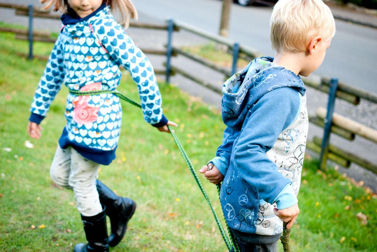 Nähen für den Herbst: Long Sweater Boys