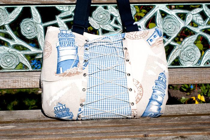 tasche nähen schnittmuster handtasche