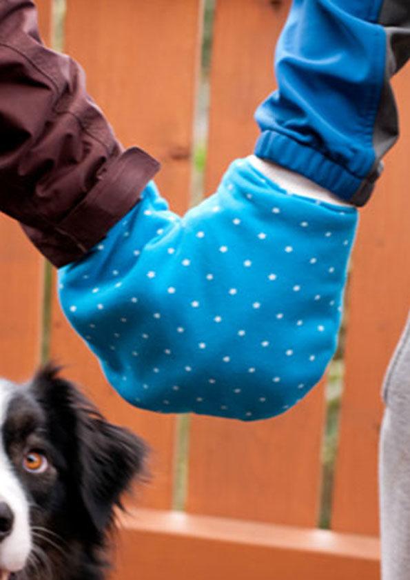 Partnerhandschuh ~ Geschwisterhandschuh ~ Eltern-Kind-Handschuh