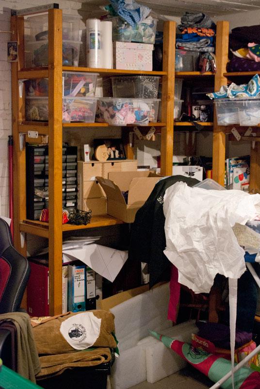 gut sortiert ins neue jahr das n hzimmer aufr umen the crafting caf. Black Bedroom Furniture Sets. Home Design Ideas