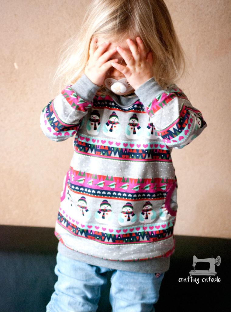Pullover nähen Mädchen