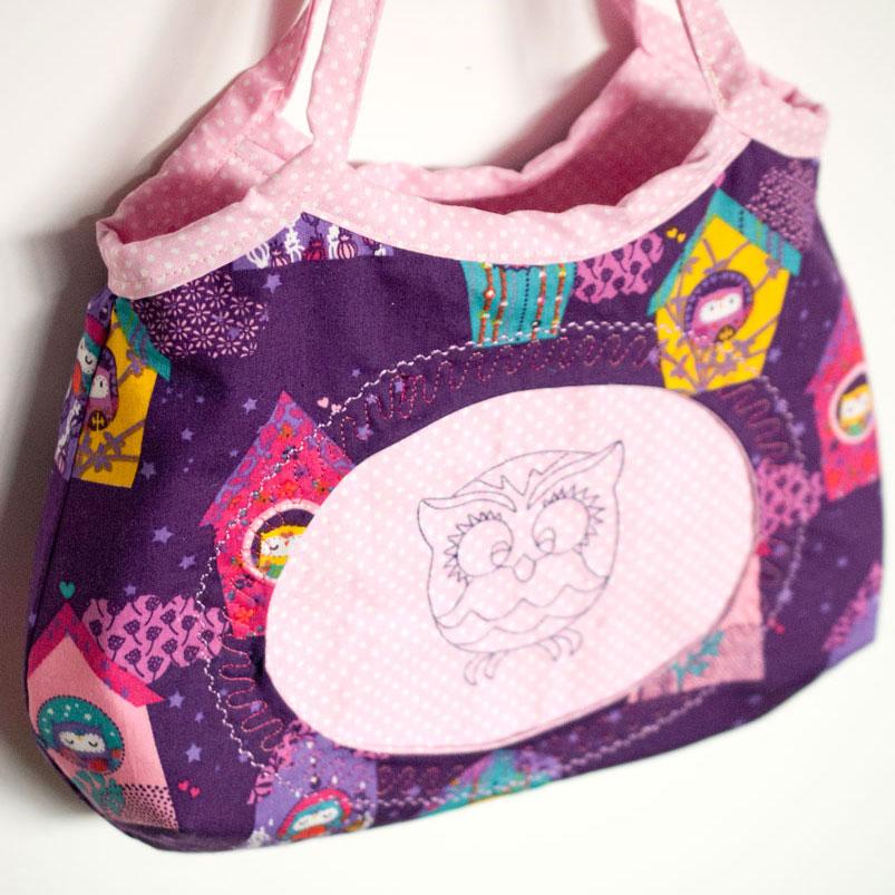 freebook kindertasche mädchenhandtasche joelle
