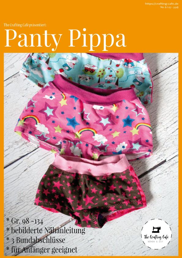 * Pippa Gr. 98-134 * ebook: Schnittmuster Unterhose für Mädchen