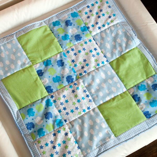 babydecke nähen patchwork anfänger