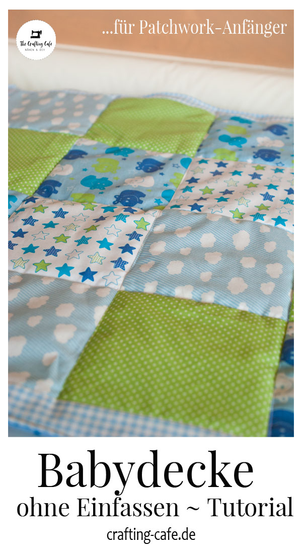 babydecke nähen patchwork