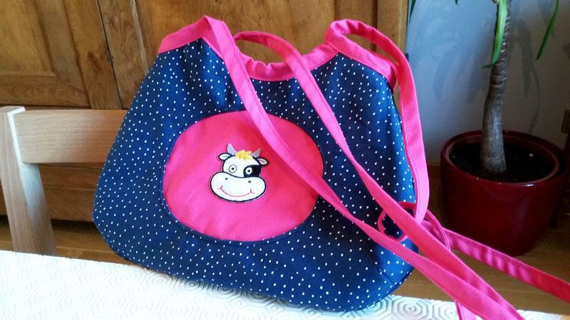 Joelle Tasche für Mädchen Schnittmuster