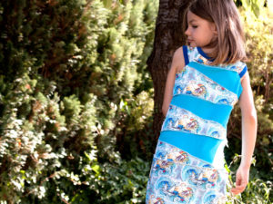 kleid für mädchen schnittmuster kostenlos