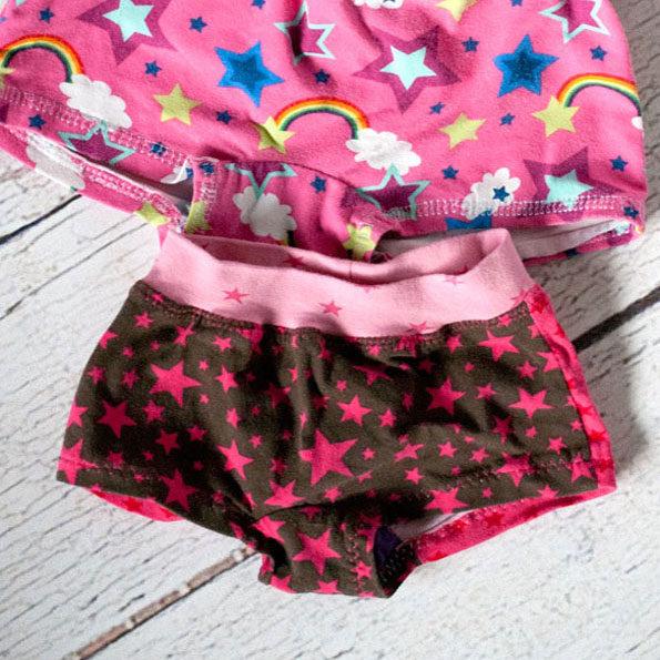 schlüpfer panty für mädchen nähen