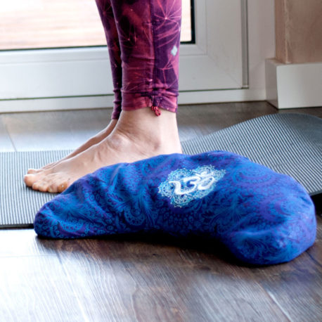 halbmond yogakissen nähen anleitung