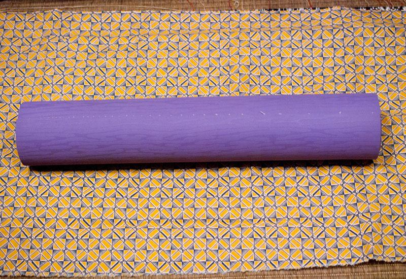 yogamattentasche nähen ohne schnittmuster