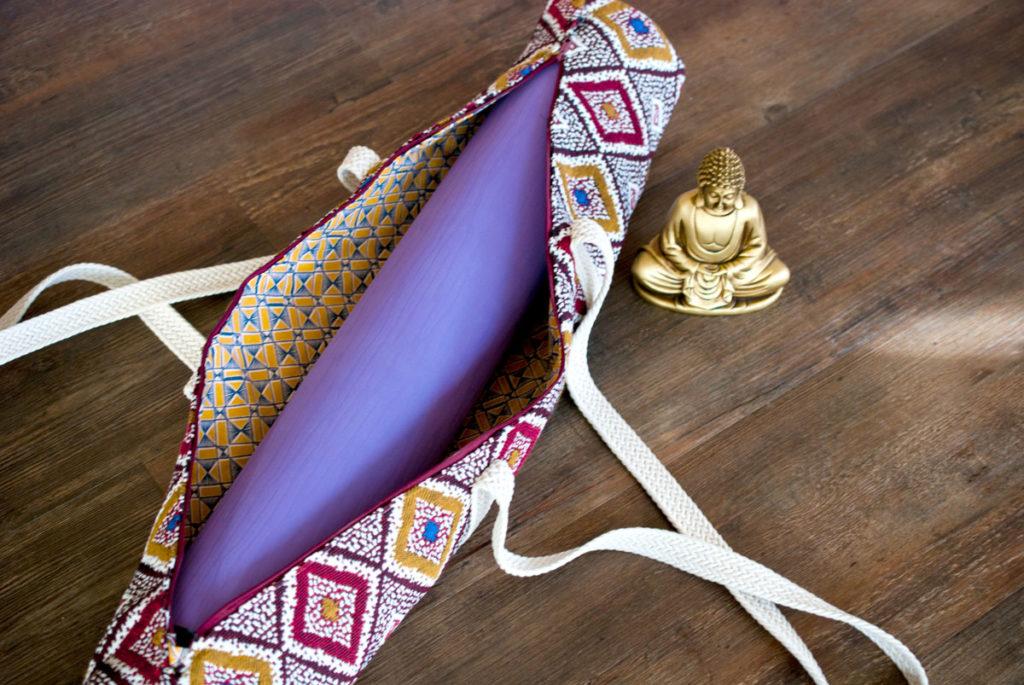 yogamattentasche einfach selber nähen
