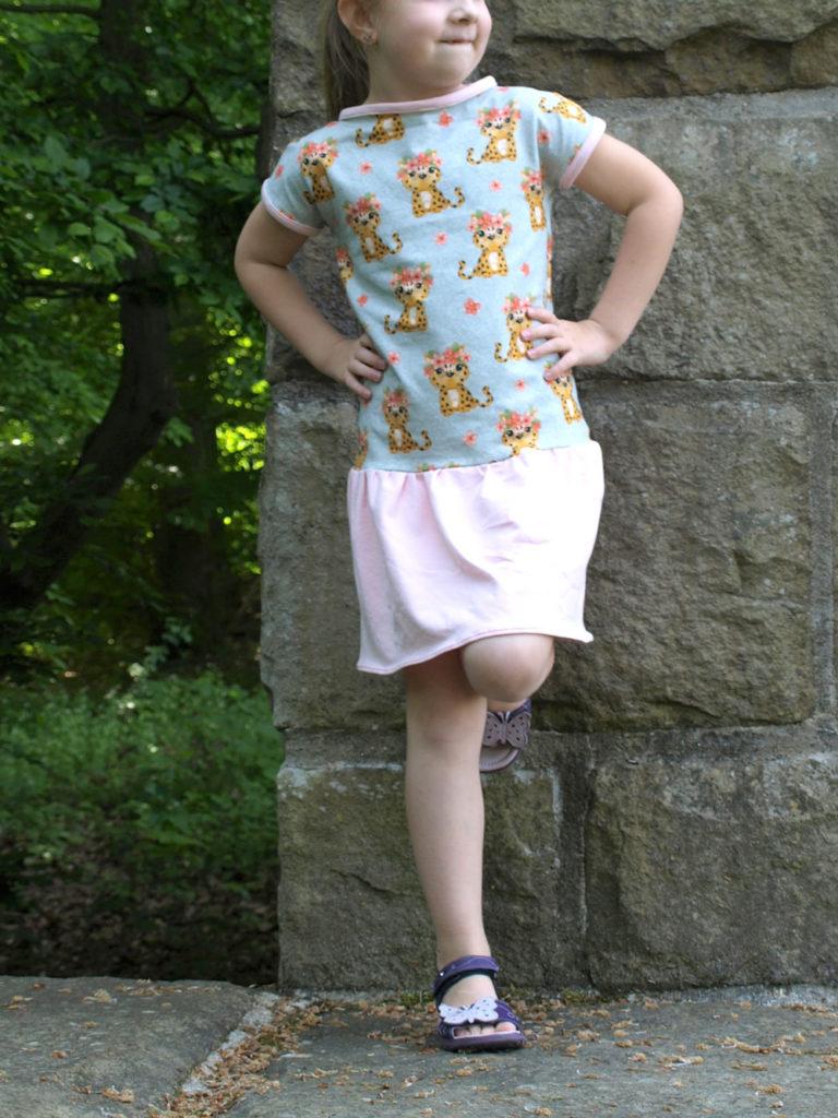 schnittmuster kinderkleid sommer nähen
