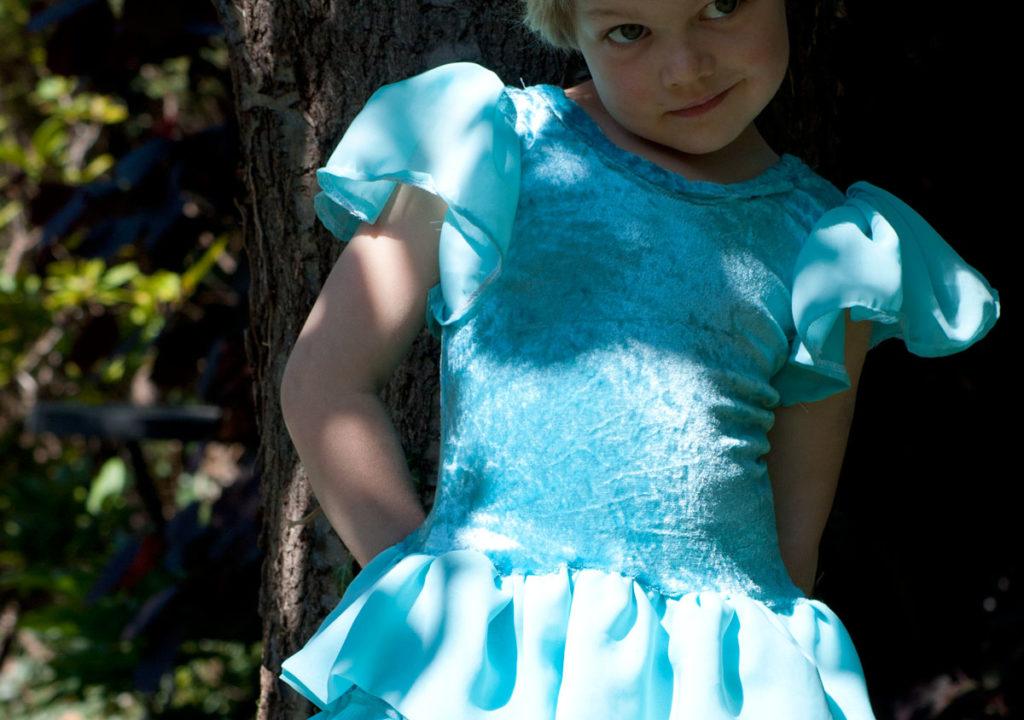 eiskönigin kleid schnittmuster flamencokleid erbsenprinzessin