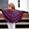 kinderponcho CORINA Schnittmuster Anleitung