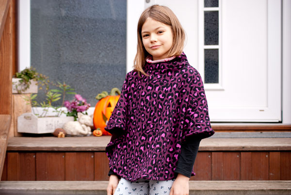 schnittmuster kinderponcho