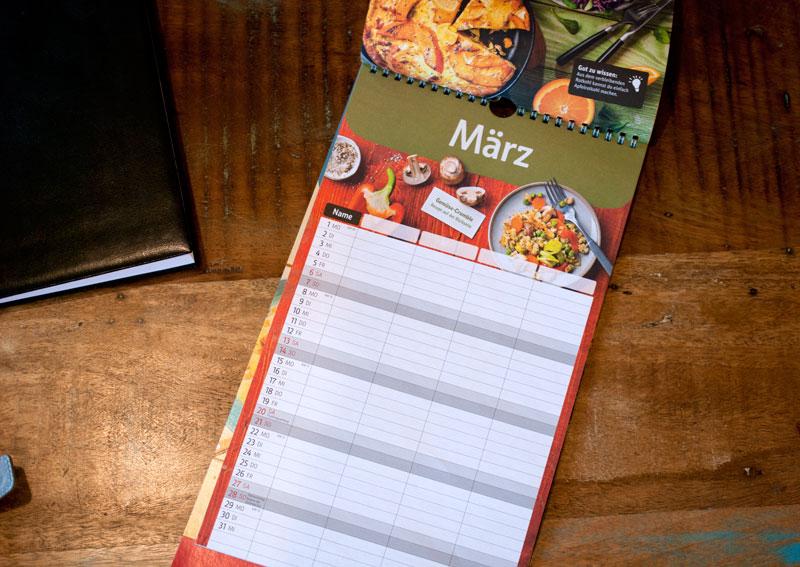 blog redaktion planung mit kostenlosem Kalender