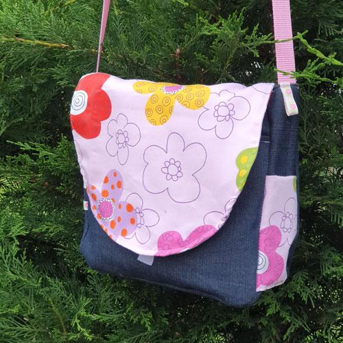 käferlein kindergartentasche mit gerundeter klappe