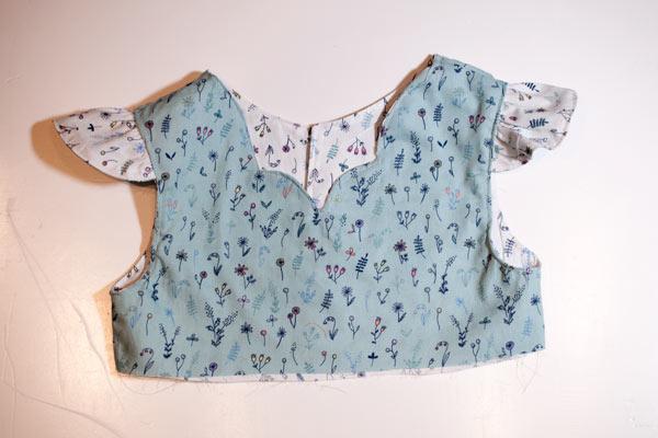Oberteil Peppermint Swirl Dress