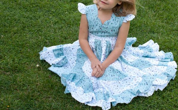 peppermint swirl dress nähen