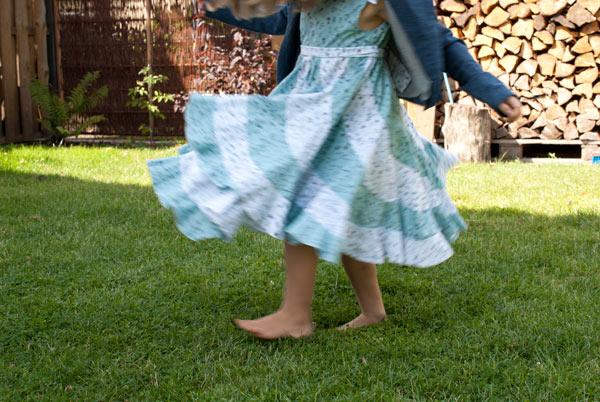 peppermint swirl dress nähen anleitung deutsch