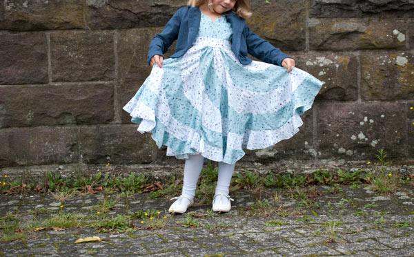 peppermint swirl dress nähen deutsch