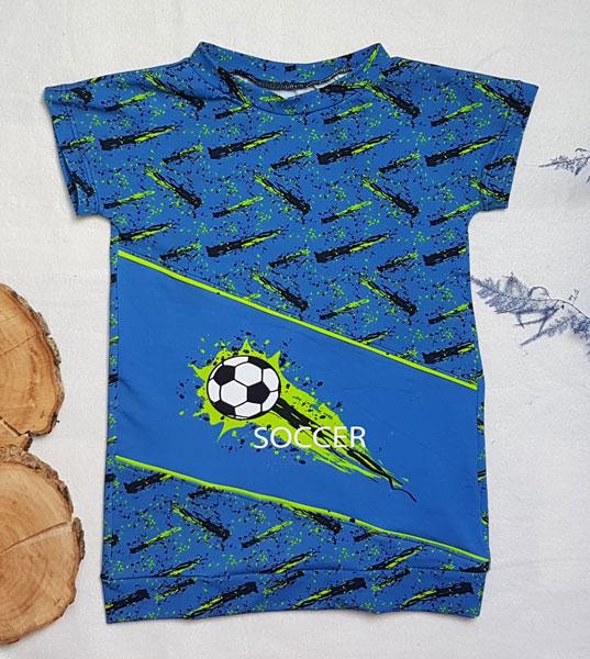 fußballshirt nähen