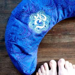 Yogakissen Halbmond Schnittmuster LUNA